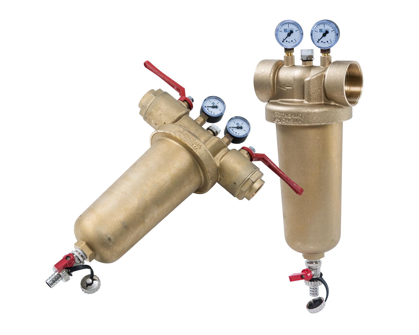 Heizungs- & Kühlwasserfilter Messing