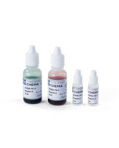 Messbesteck für Korofin plus - Reagenz 1, 2, 3, 4